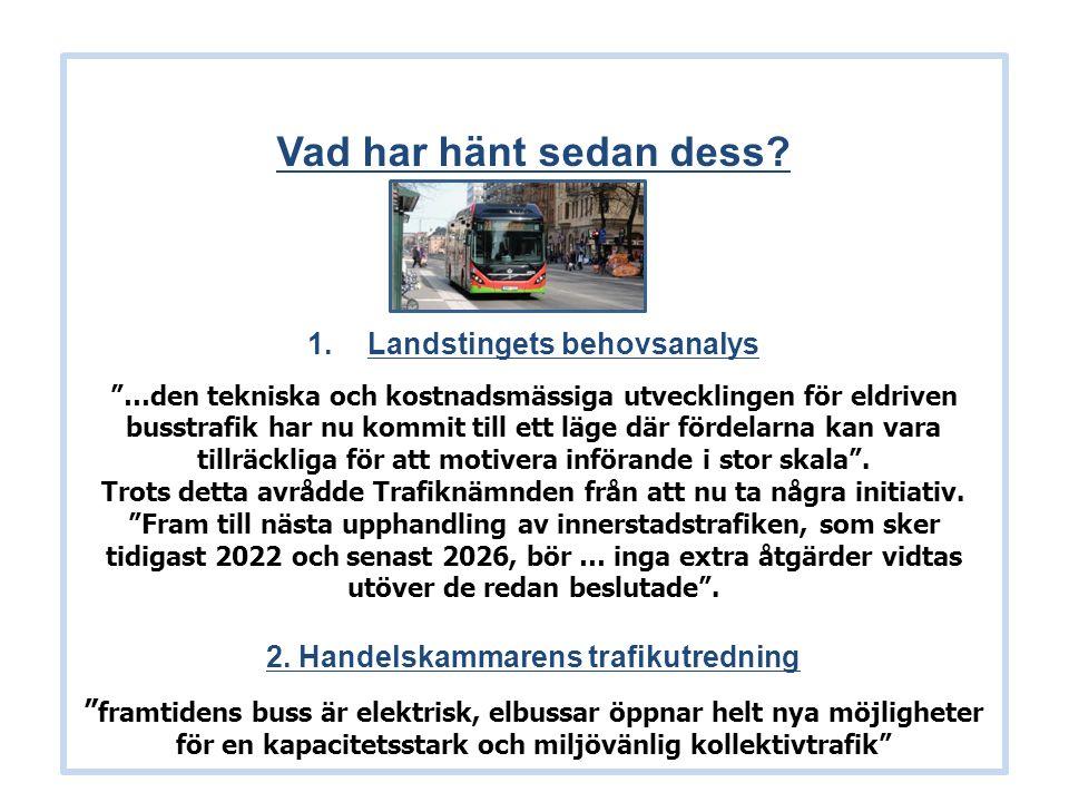 Bussplan Stockholm 2015 -vilka frågor ställer vi i dag.