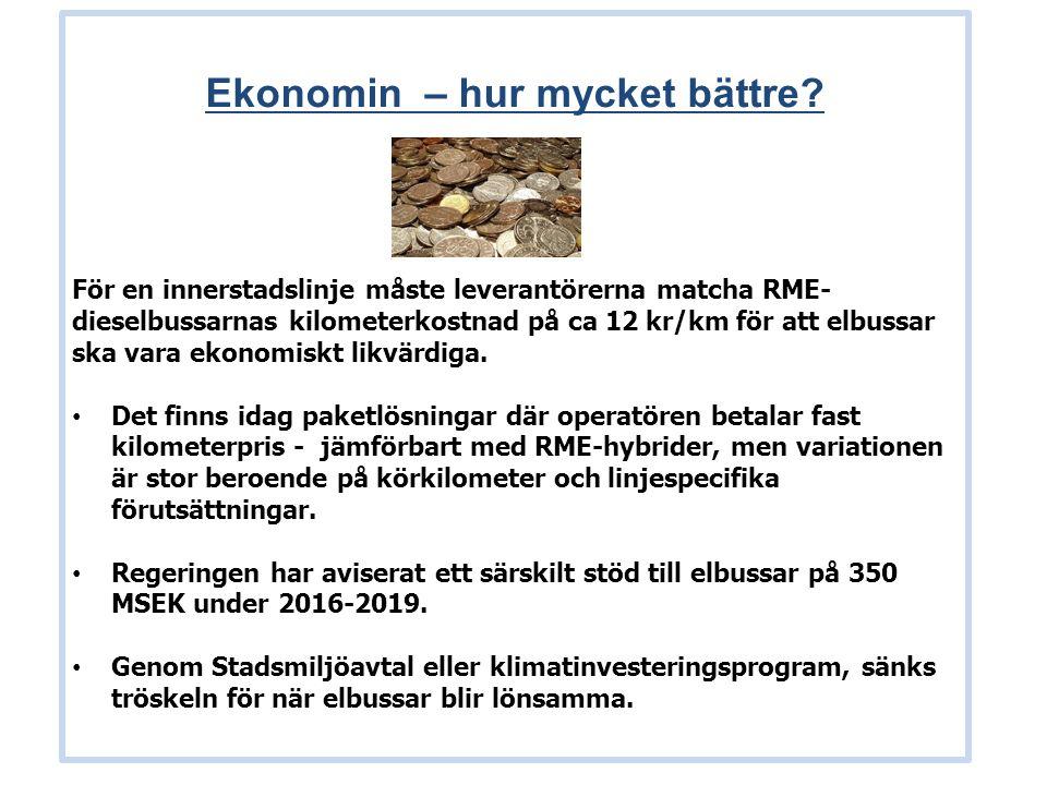 Ekonomin – hur mycket bättre.Exempel 1b: Högkostnadsscenario, 5.000.000 kr.