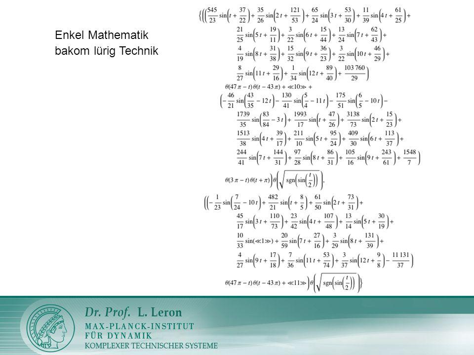 Enkel Mathematik bakom lürig Technik