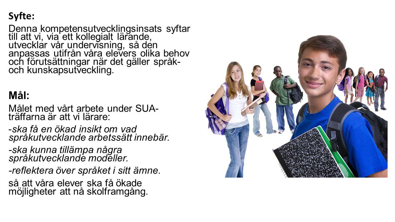 Referenser Axelsson, Monica (2010).Vardagsspråk och skolspråk i utveckling.