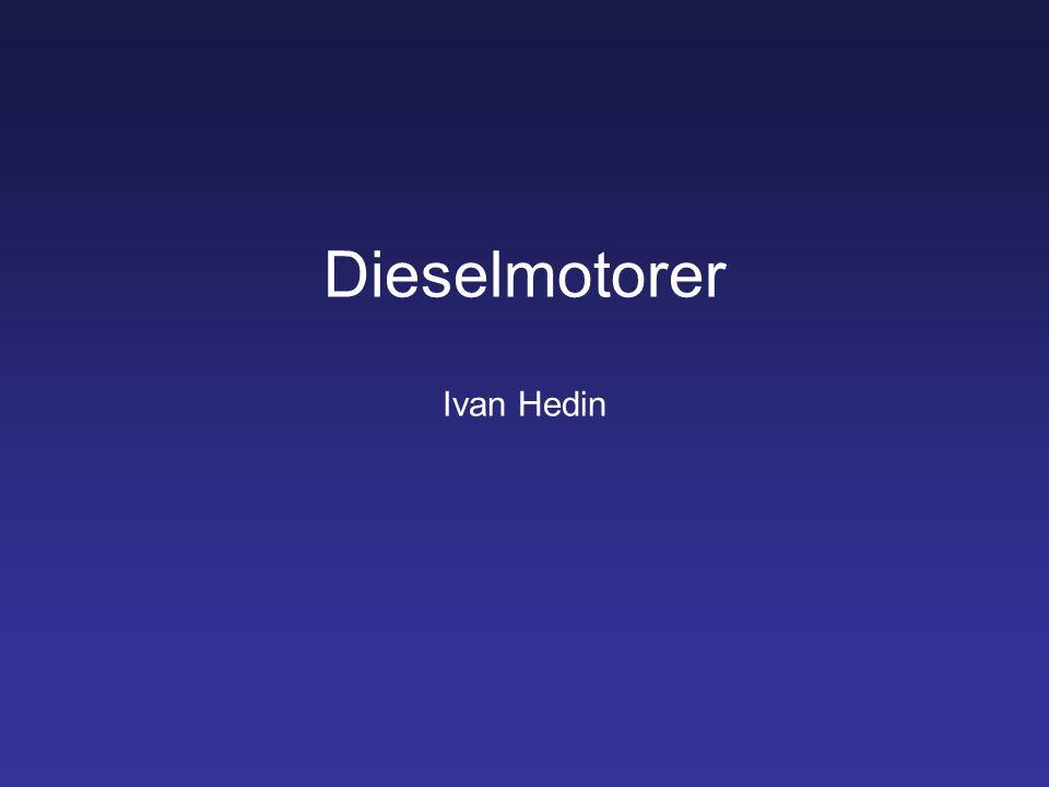 Dieselmotorer Ivan Hedin