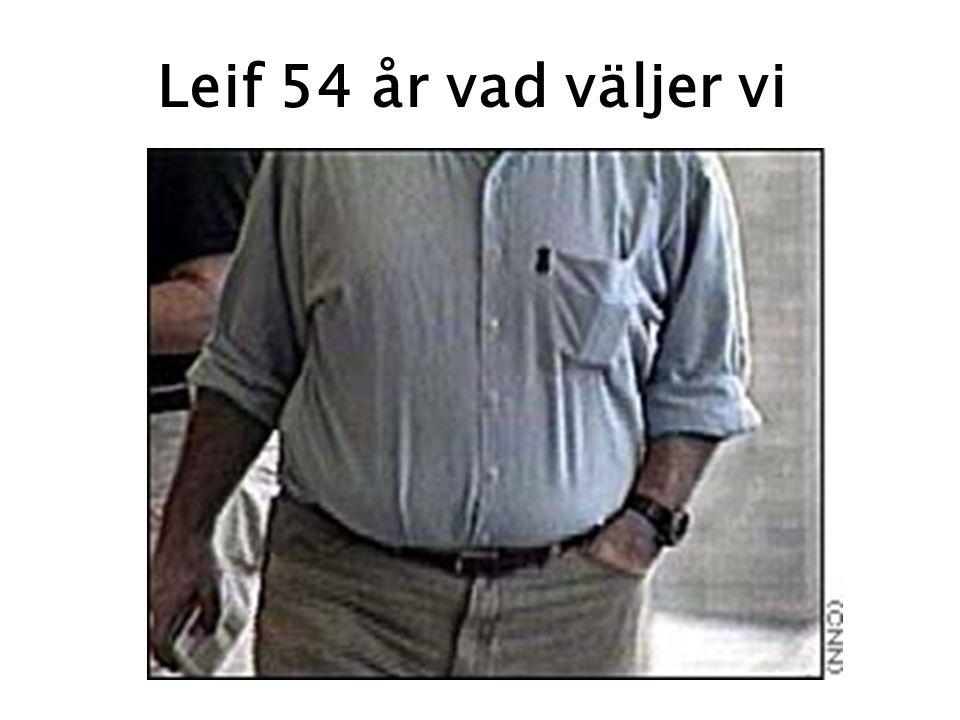 Leif 54 år vad väljer vi