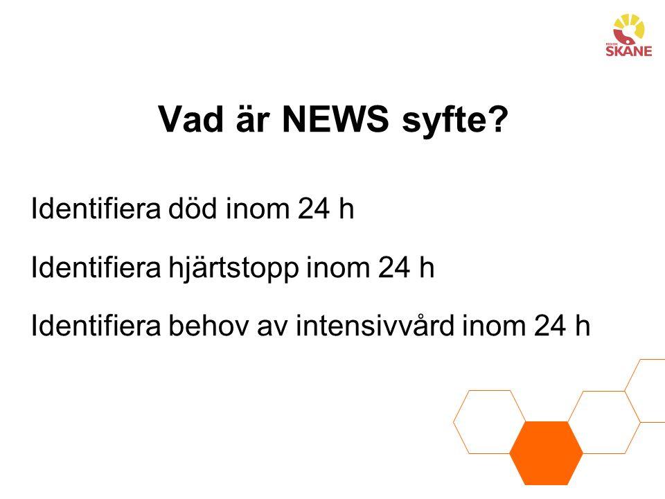 Vad är NEWS syfte.