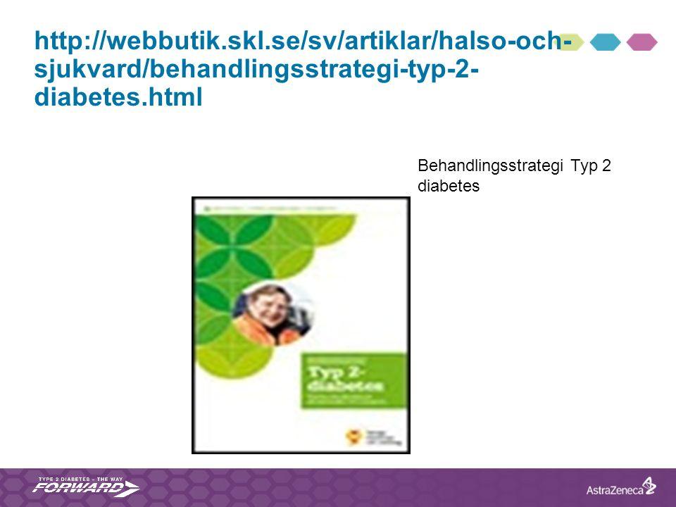 http://webbutik.skl.se/sv/artiklar/halso-och- sjukvard/behandlingsstrategi-typ-2- diabetes.html Behandlingsstrategi Typ 2 diabetes