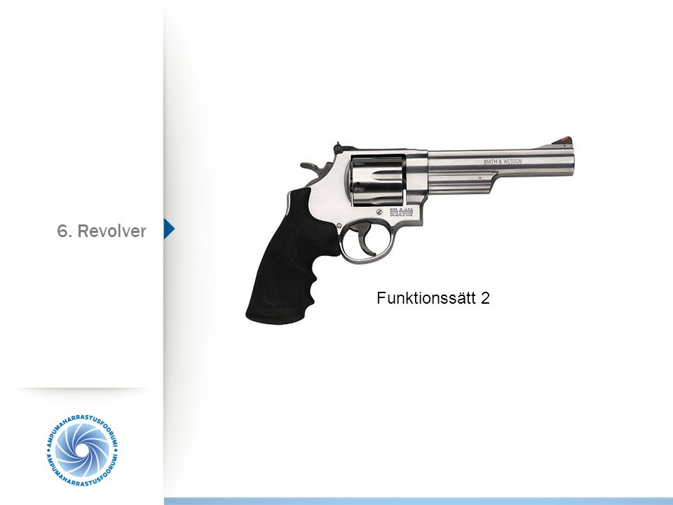 Funktionssätt 2 6. Revolver