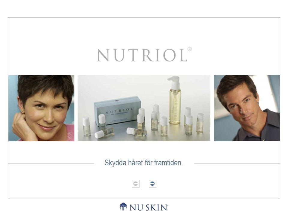 HÅRETS FYSIOLOGIPRESENTATION AV NUTRIOLUPPLEV NUTRIOL  Hårets fysiologi.