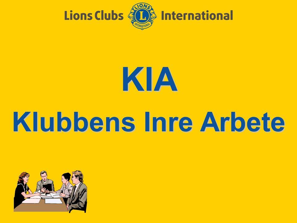 KIA Klubbens Inre Arbete