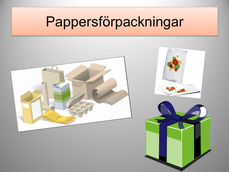 Pappersförpackningar