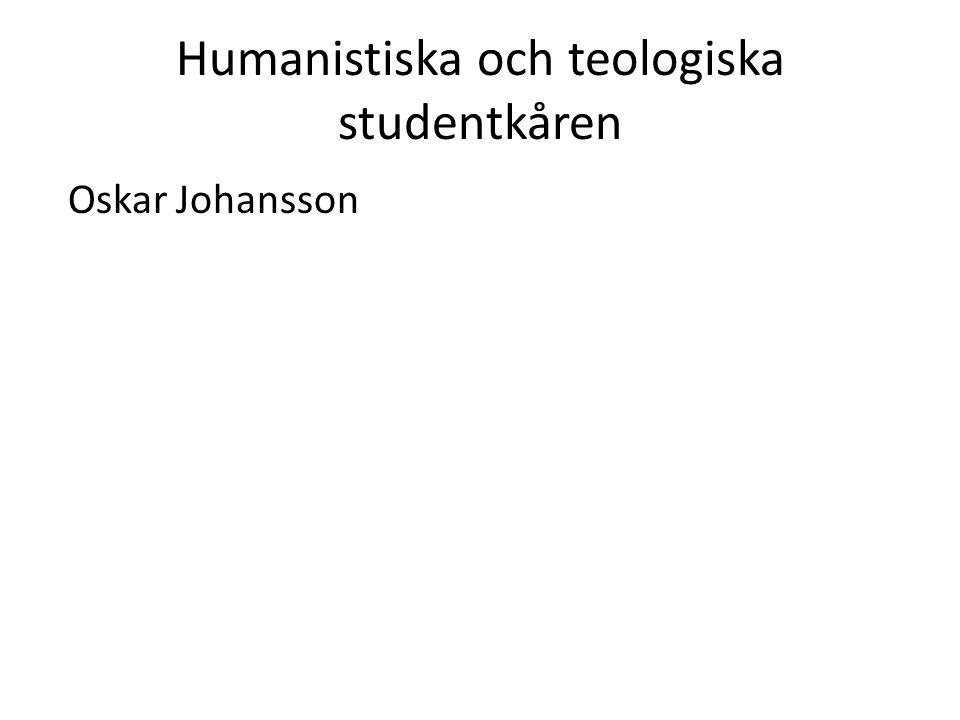 Humanistiska och teologiska studentkåren Oskar Johansson