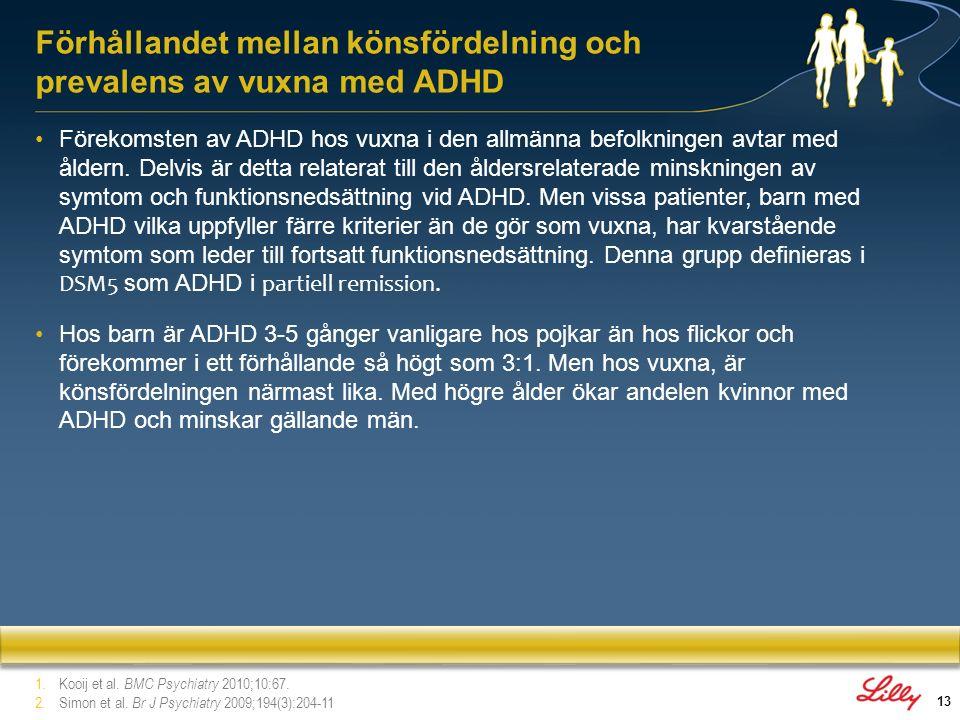 14 1.2 Neurobiologi, genetik och kognitiva data Avsnitt 1: Bakgrund till ADHD