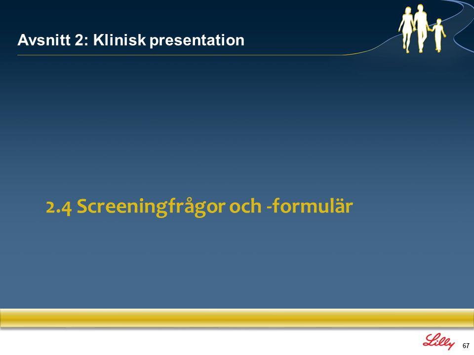 68 1: Klinisk diagnostisk intervju: Utvärdera var och en av de 18 punkterna (DSM/ICD) både med avseende på nutid och retrospektivt, och screena för komorbida sjukdomar 2: Utvärdering av funktionsnedsättningar/behov: Att matcha symptomen till funktionsnedsättningar är nyckeln till diagnosen (utvecklingshistorien är viktigt) 3: Screeninginstrument Används för att screena för ADHD och kontrollera behandlingssvaret 4: Psykometriska tester: Inte tillräckligt prediktiva, men ett bra komplement till bedömningen (inkluderar: IQ-specifika lässvårigheter/matematiska svårigheter, lång och varierande reaktionstid, responsinhibition, arbetsminne, impulsivitet i valsituationer) Diagnostiska metoder 1.Asherson.