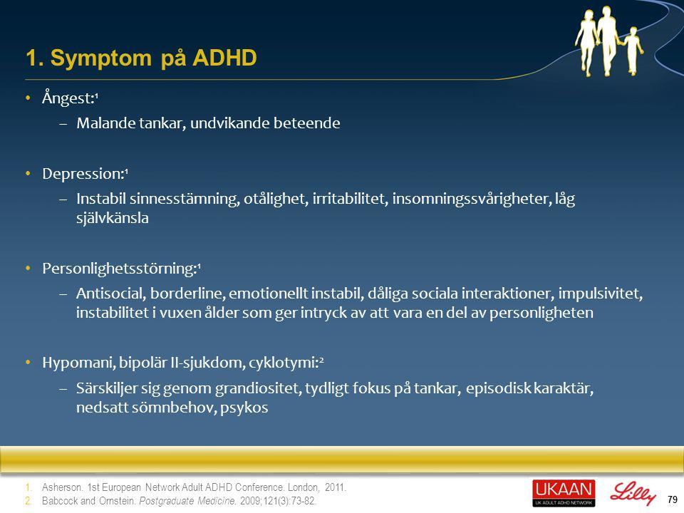 80 Dyslexi (överlappande genetiska riskfaktorer) 1 Specifika och generella inlärningssvårigheter (överlappande genetiska riskfaktorer, uppmärksamhetsproblem 1 Genomgripande störning i utvecklingen 1 Dyspraxi 1 Ticsstöming/Tourettes syndrom 1 Talproblem 2 Autismspektrumstörning 1 2.