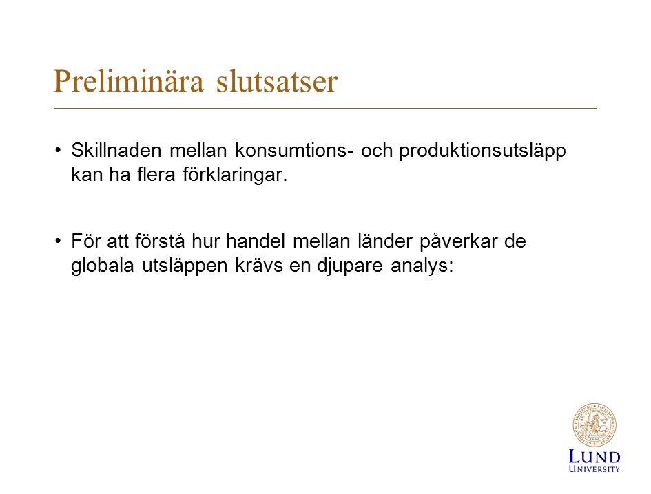 I vilka exportsektorer gör Sverige mest klimatnytta?
