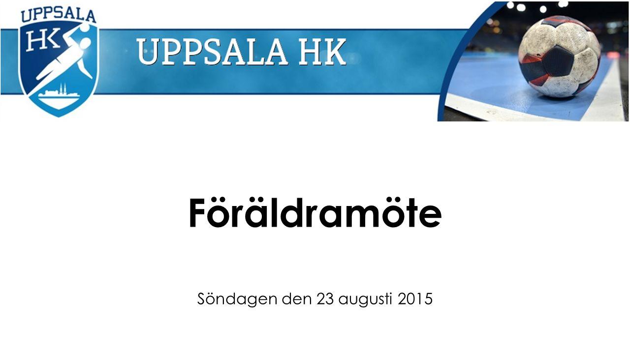 Föräldramöte Söndagen den 23 augusti 2015