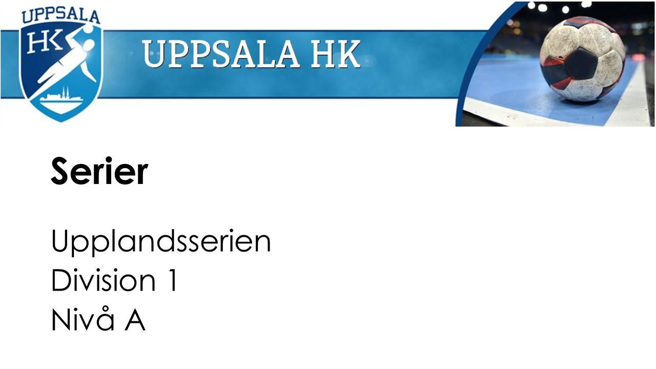 Serier Upplandsserien Division 1 Nivå A