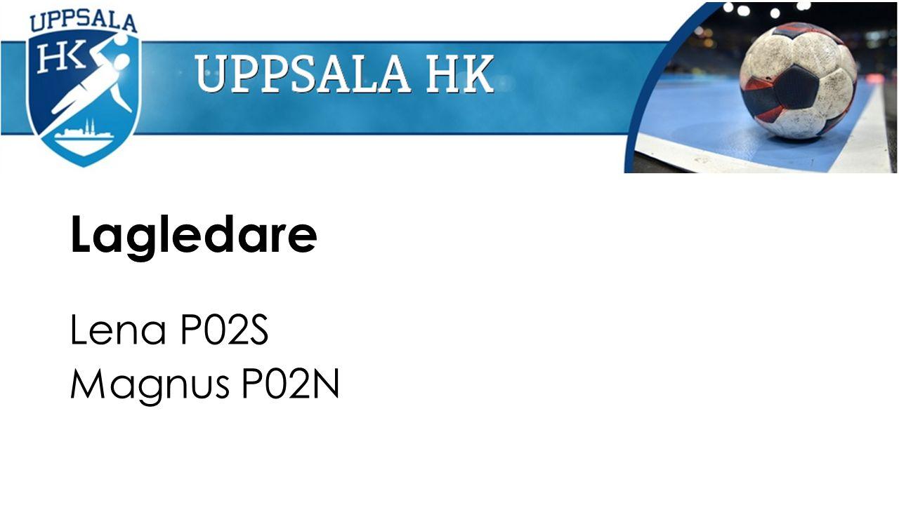 Lagledare Lena P02S Magnus P02N