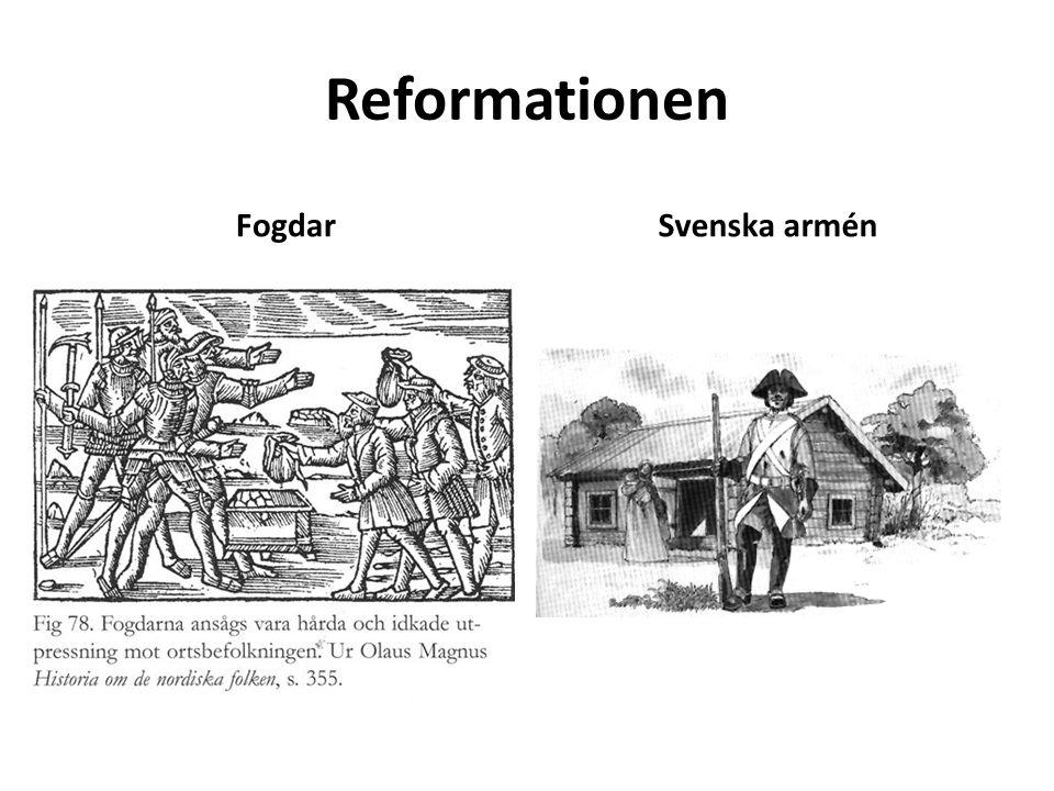 Reformationen FogdarSvenska armén