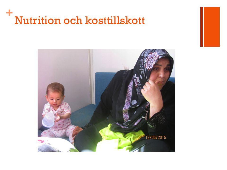 + Nutrition och kosttillskott