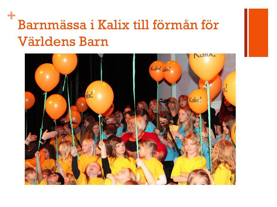 + Barnmässa i Kalix till förmån för Världens Barn