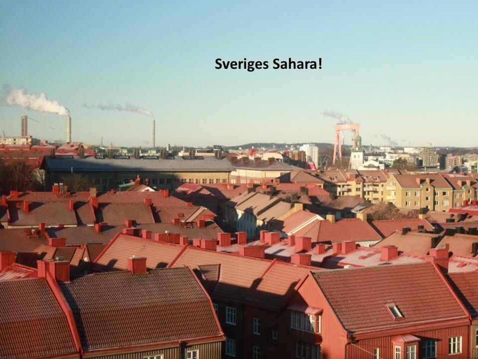 Sveriges Sahara!