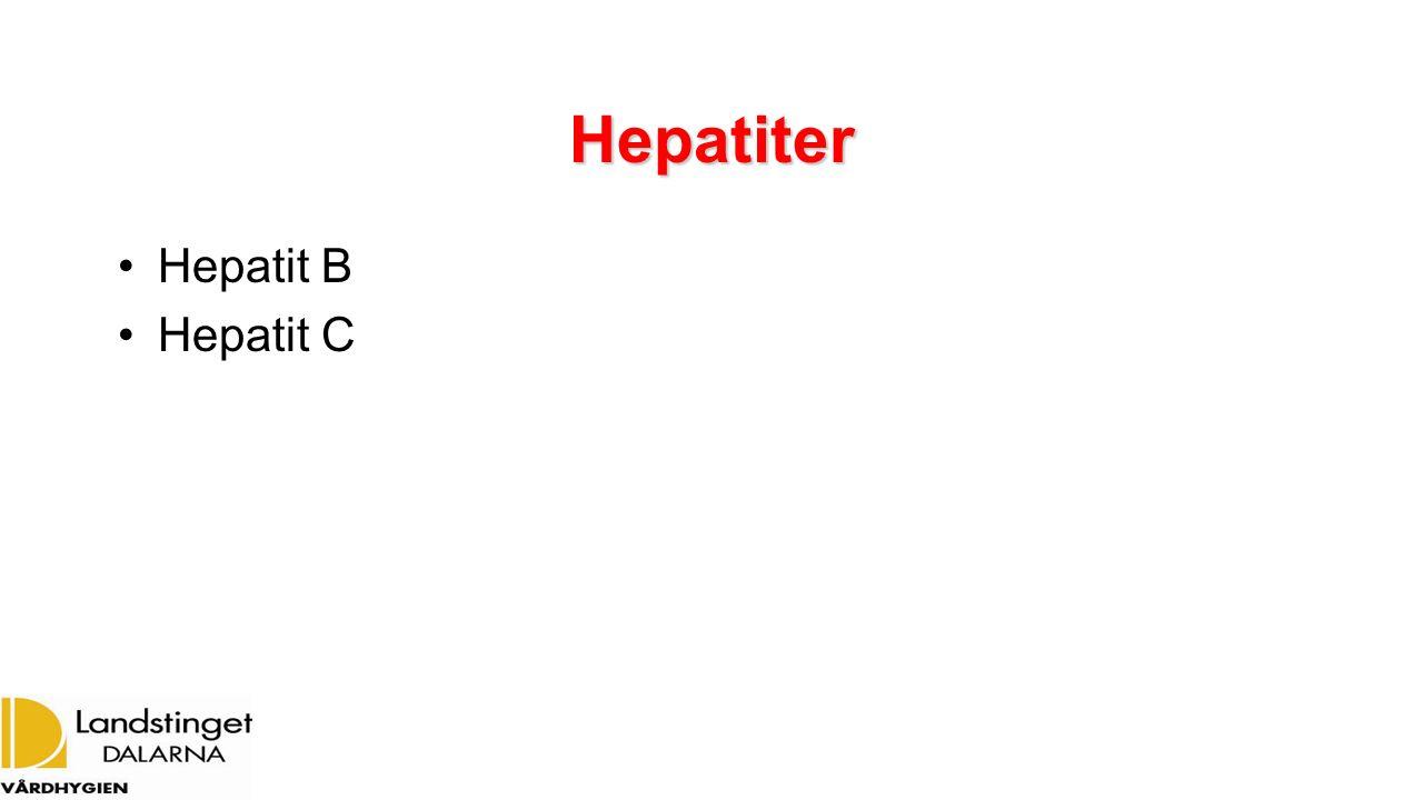 Hepatiter Hepatit B Hepatit C