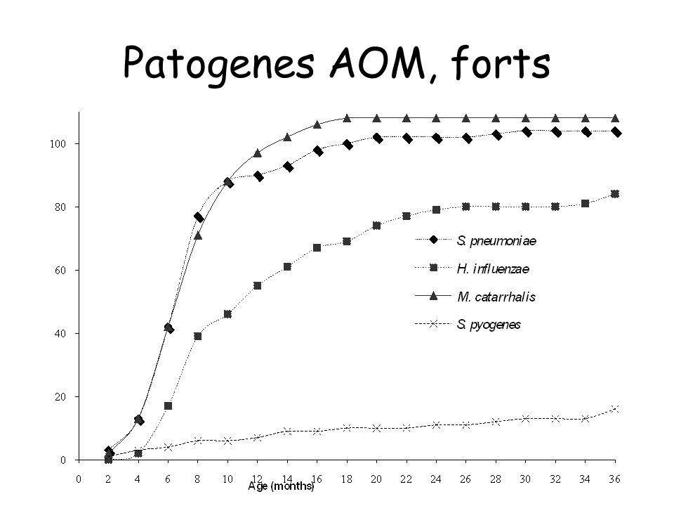 Patogenes AOM, forts
