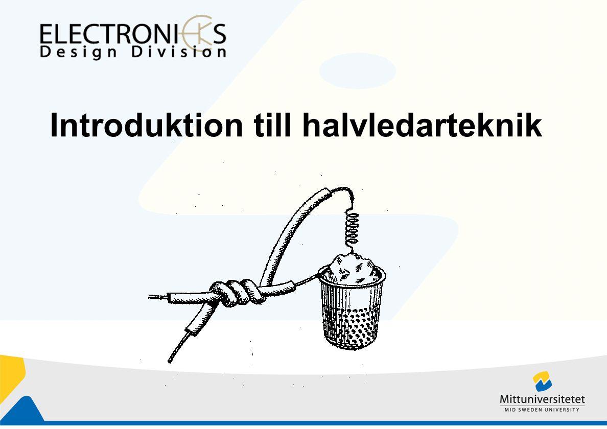 Introduktion till halvledarteknik