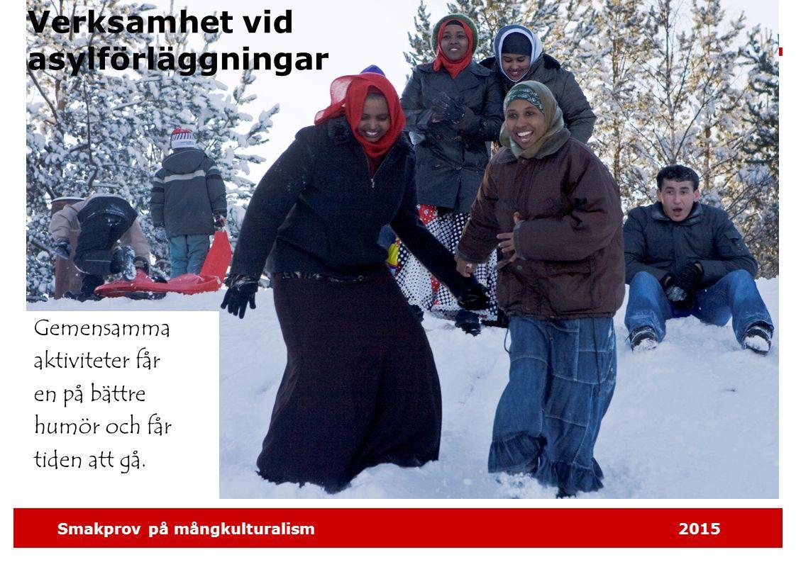 Smakprov på mångkulturalism2015 Med i föreningsverksamheten.