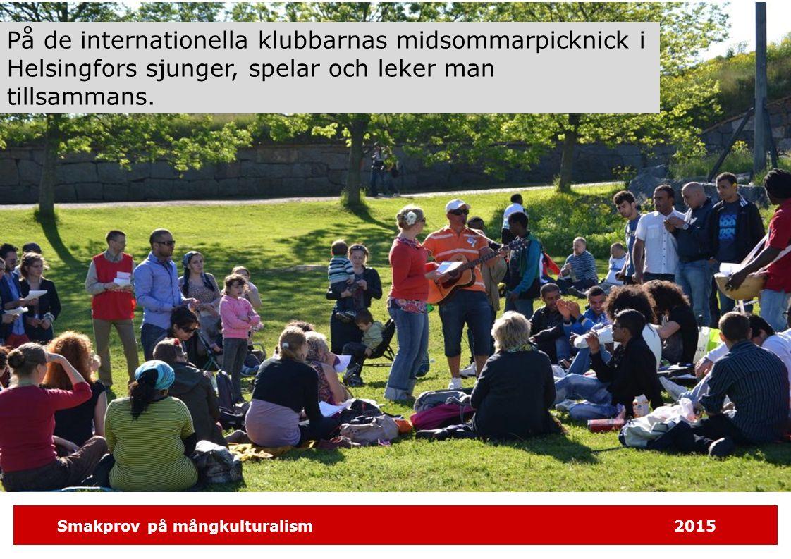 Smakprov på mångkulturalism2015 Läxhjälpen Stöd för skolgång och studier