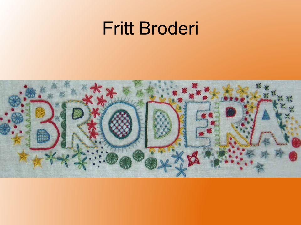 Fritt Broderi