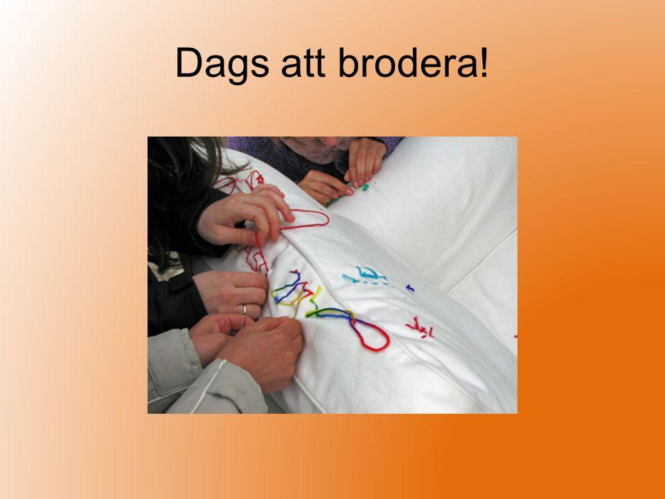 Slöjddagbok Avsluta varje lektion med att skriva i din slöjddagbok Dagboken fixar vi i www.slojd.nu
