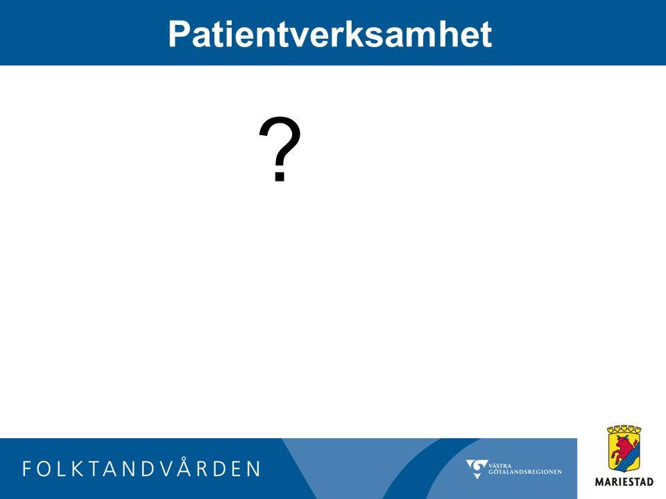 Patientverksamhet ?