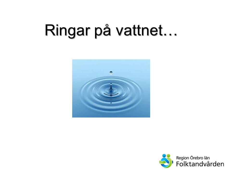 Ringar på vattnet…