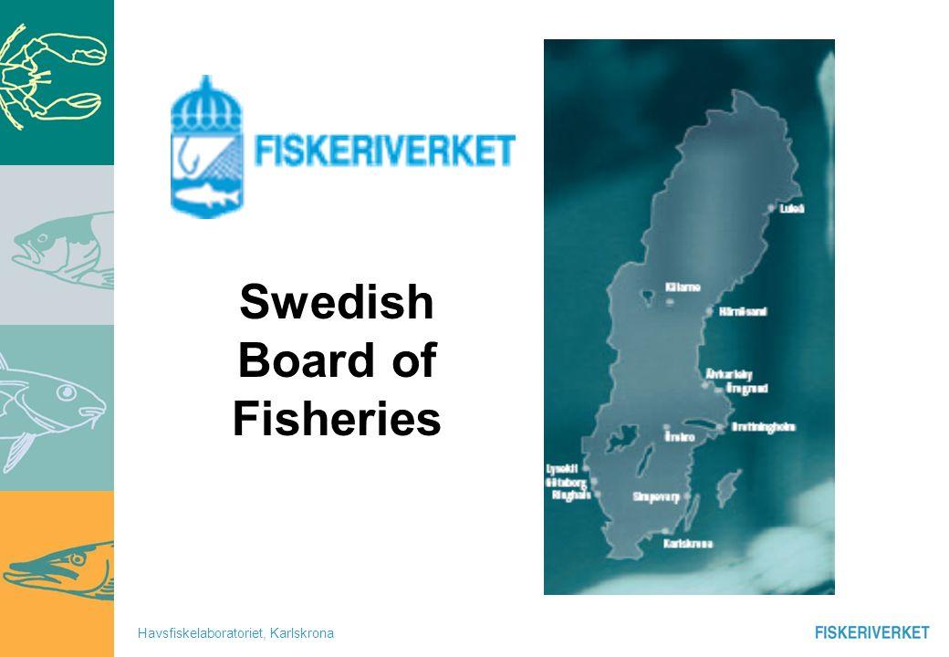 Havsfiskelaboratoriet, Karlskrona Swedish Board of fisheries structure