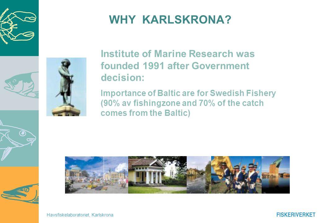 Havsfiskelaboratoriet, Karlskrona 1 2 3 4 10+....20052002200320042001 .