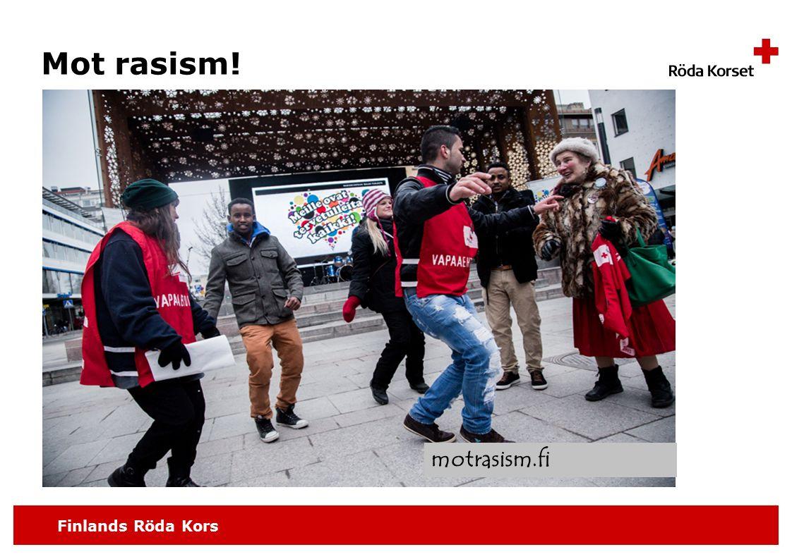 Finlands Röda Kors Mot rasism! motrasism.fi