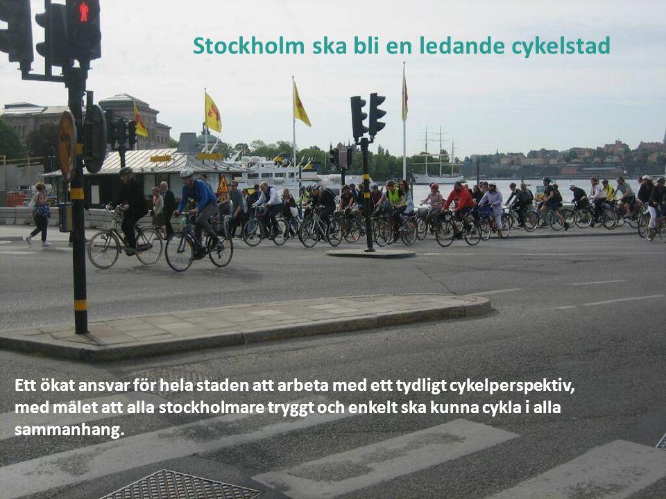 Ledande cykelstad: Styrdokument  Framkomlighetsstrategi för Stockholm Framkomlighetsstrategi för Stockholm  Gods- och leveransstrategin Gods- och leveransstrategin  Cykelplan Stockholm Cykelplan Stockholm  Strategi för ökad cykling i Stockholms stad Strategi för ökad cykling i Stockholms stad  Trafiksäkerhetsprogram för Stockholms stad Trafiksäkerhetsprogram för Stockholms stad Obs, fråga: varför är det blå text med streck.