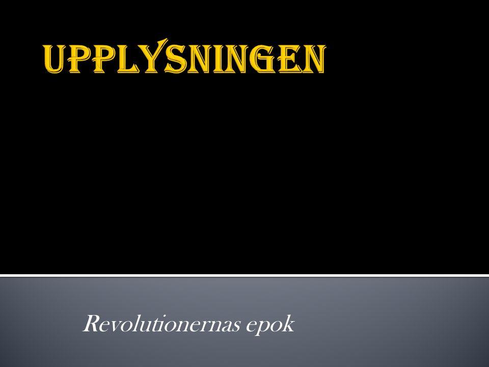 Revolutionernas epok