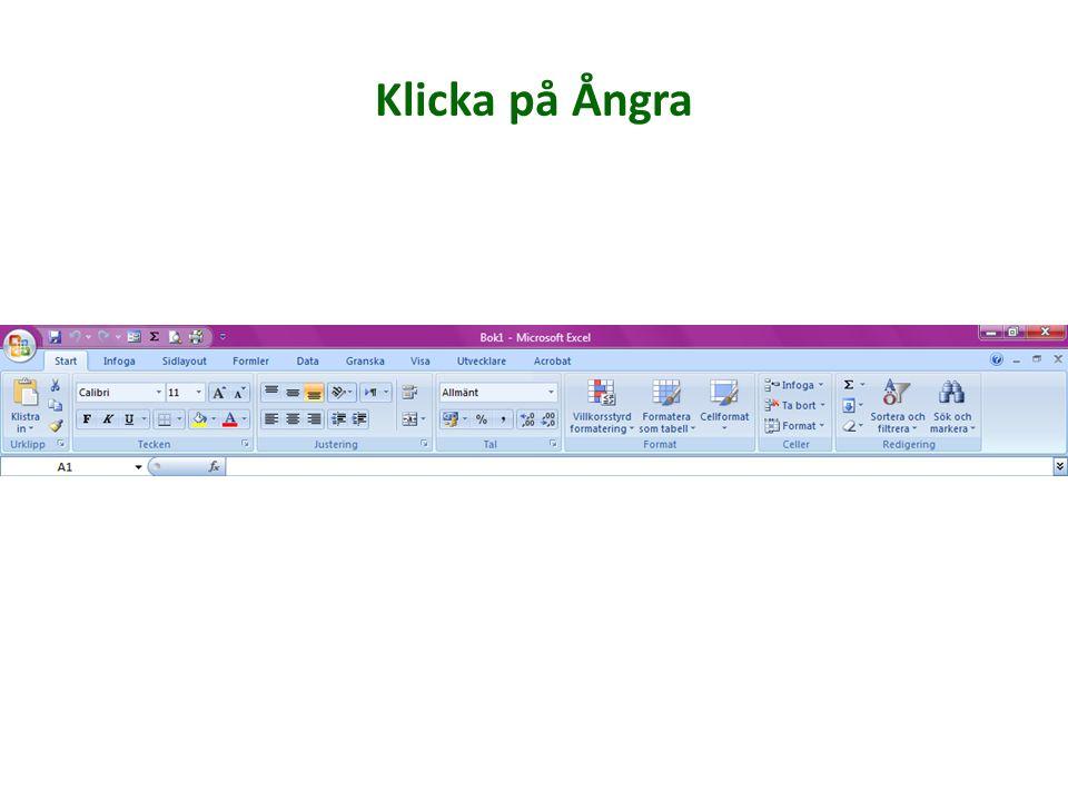 Infoga ClipArt Infoga SmartArt Infoga Pivottabell Gör en länk av text eller bild Infoga symbol Infoga textruta Rita ut figurer Infoga bild Få upp en lista över alla tillgängliga diagram Infoga WordArt