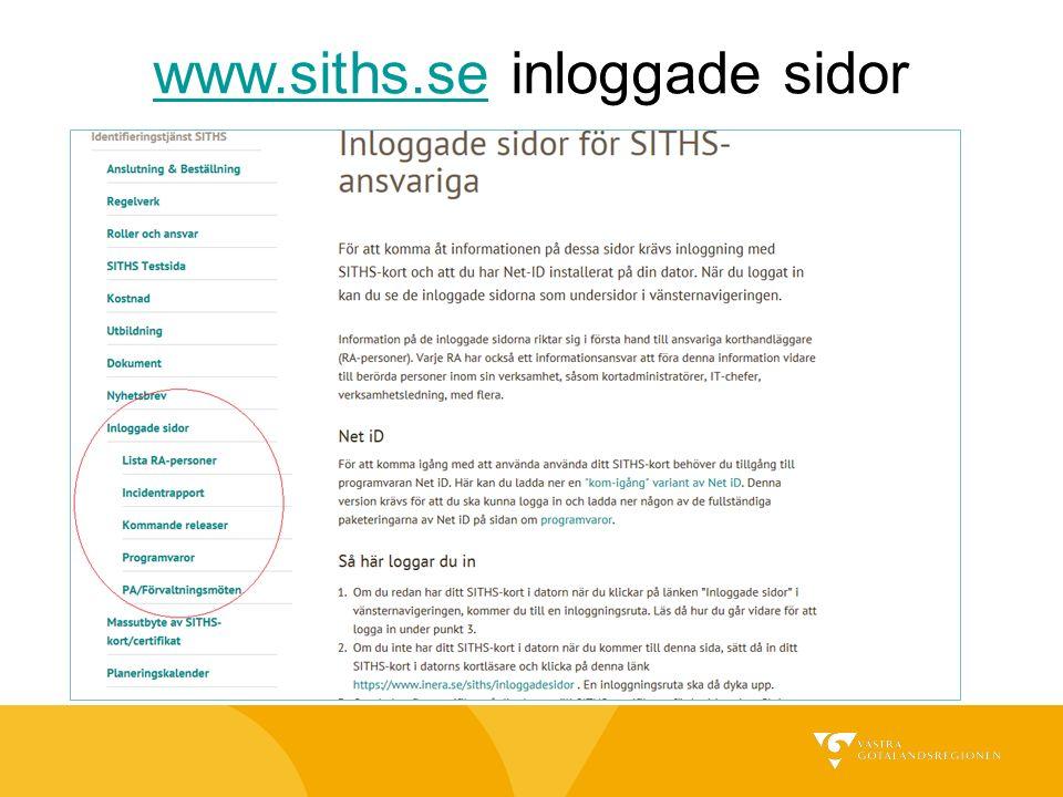 www.siths.sewww.siths.se inloggade sidor
