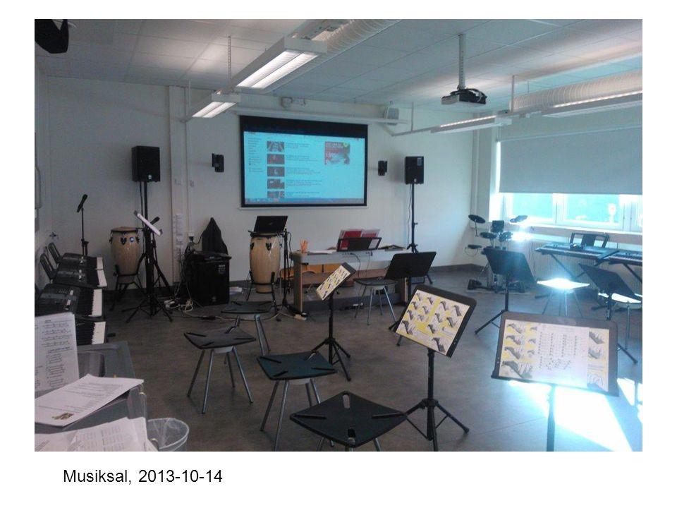 Musiksal, 2013-10-14