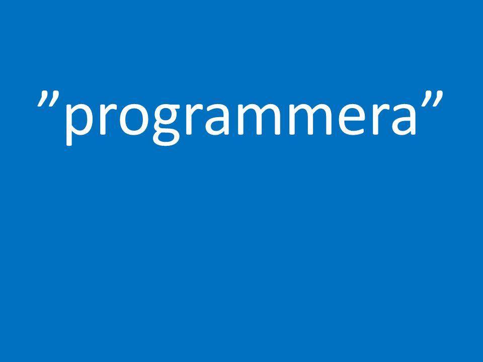 programmera