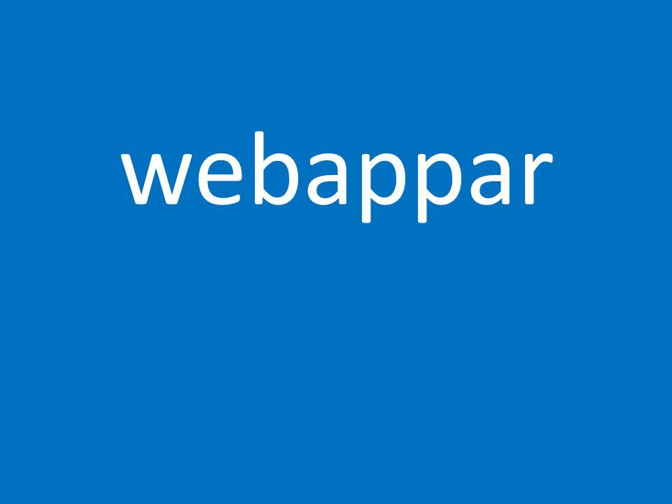 webappar