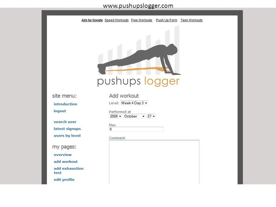 www.pushupslogger.com