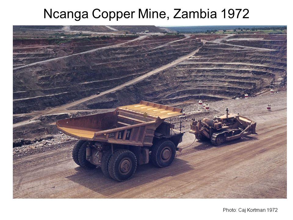 Ncanga Copper Mine, Zambia 1972 Photo: Caj Kortman 1972