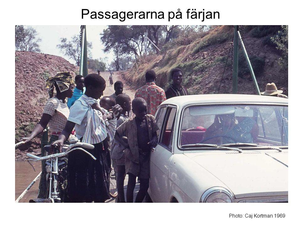 Passagerarna på färjan Photo: Caj Kortman 1969
