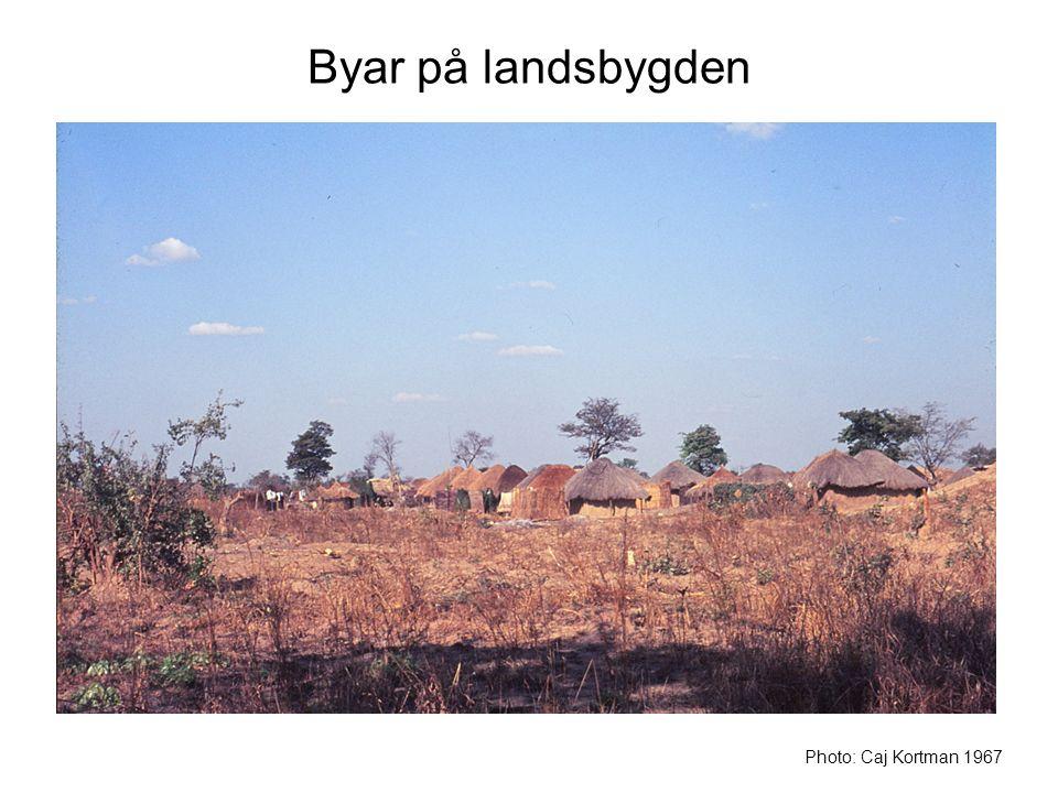 Byar på landsbygden Photo: Caj Kortman 1967
