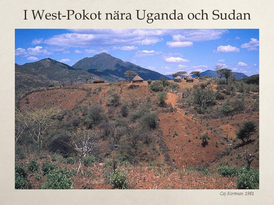I West-Pokot nära Uganda och Sudan Caj Kortman 1981