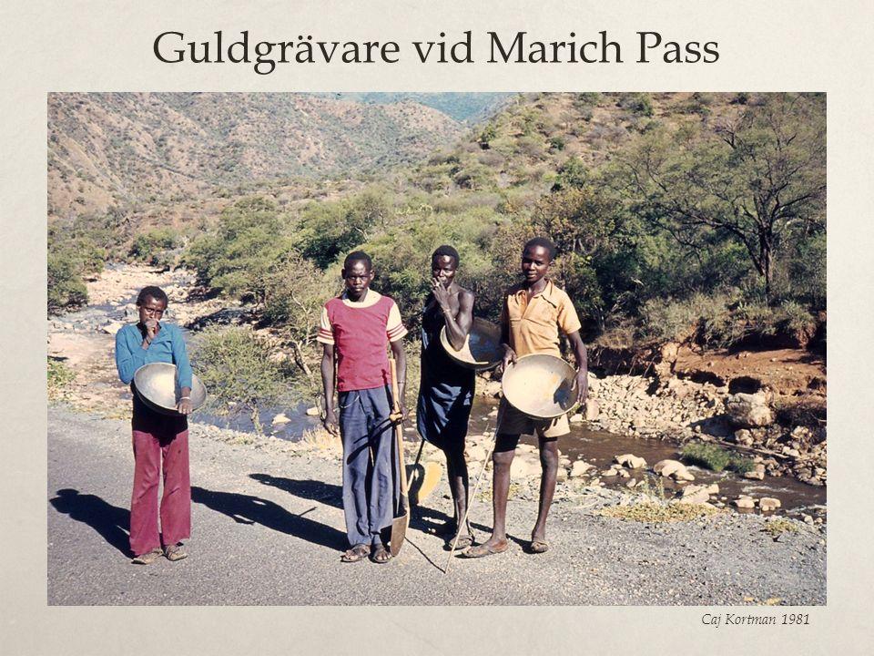Guldgrävare vid Marich Pass Caj Kortman 1981