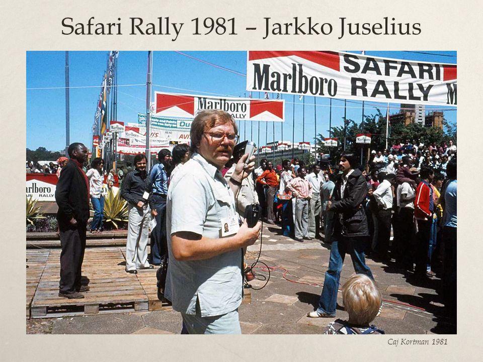 Safari Rally 1981 – Jarkko Juselius Caj Kortman 1981